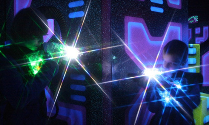 The Fun Warehouse - Fairmount: All-Night Play or Six Games of Laser Tag at The Fun Warehouse (Half Off)