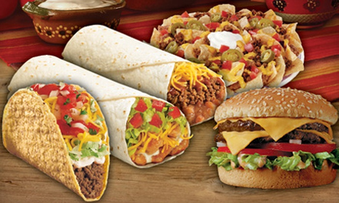 Del Taco - Multiple Locations: Made-to-Order Fresh Mexican and American Food at Del Taco (Half Off). Two Options Available.