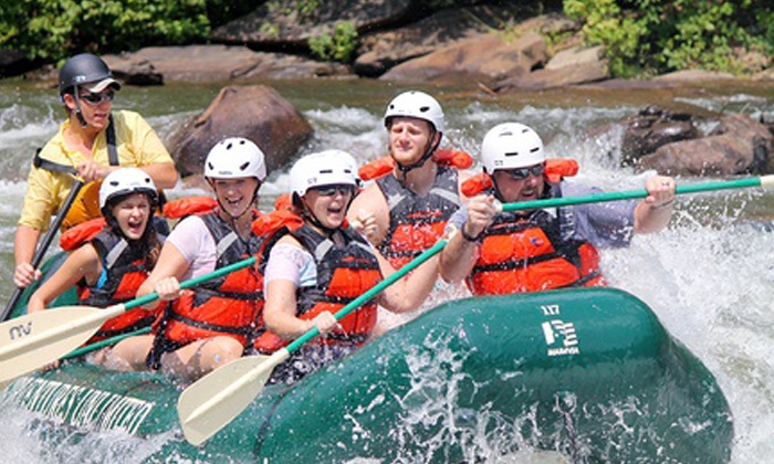 Adventures Unlimited - Ocoee: Half-Day Ocoee River Adventure with Rental Gear from Adventures Unlimited (Up to 55% Off)