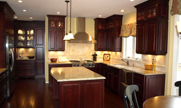 Squash blossom remodeling up to 50 off baltimore groupon for Complete kitchen remodel