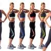 Zuzuzen Sports Bras and Yoga Tight-Fit Capris
