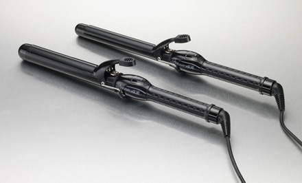 Le Angelique Professional Clip Curling Iron