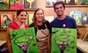 Out Of Biz: The Royal Canvas Painting Parlor - Alamo Heights: Two-Hour Kids' or Adults' Painting Party or Three-Hour BYOB Class at The Royal Canvas Painting Parlor (Up to 51% Off)