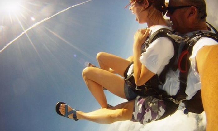 Chattanooga Skydiving Company - Chattanooga Skydiving Company: Tandem Skydive with Digital Video for One or Two from Chattanooga Skydiving Company in Jasper (Up to 52% Off)