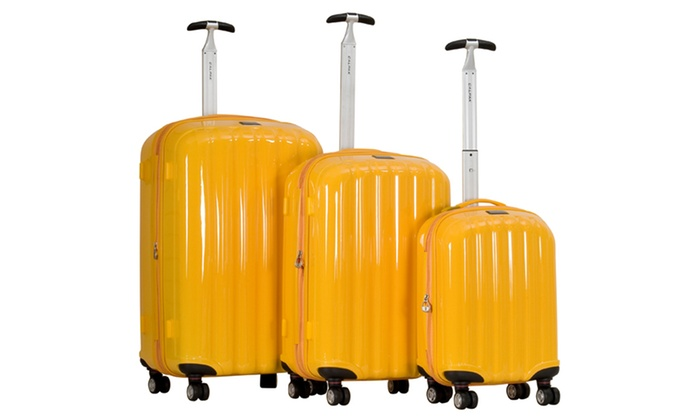 CalPak 3-Piece Luggage Set: CalPak 3-Piece Luggage Set. Multiple Colors Available. Free Shipping and Returns.