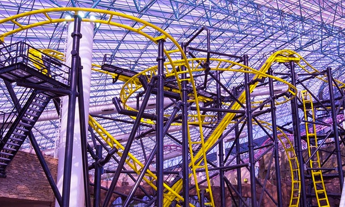 Adventuredome at Circus Circus - Las Vegas: $39.95 for a VIP Ride Package for Two with Buffet Food Credit and More at Adventuredome at Circus Circus Las Vegas
