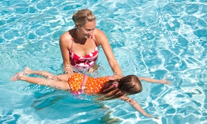 American Woman Fitness Centers: Swimming Lessons for 1 or 2 or Pool Party for Up to 12 Kids at American Woman Fitness Centers (Up to 56% Off)