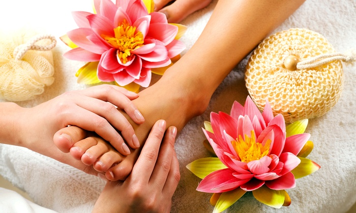 Kimberly Spa - Millard: $27 for a Watermelon Basil Vodkatini Pedicure or Sweet Tea Surrender Pedicure at Kimberly Spa ($55 value)