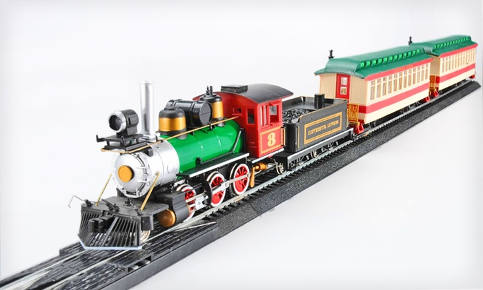 Mota Speed-Controlled Electric Train Set: $59 for a Mota Classic Speed-Controlled Electric Train Set ($149.99 List Price). Free Shipping.