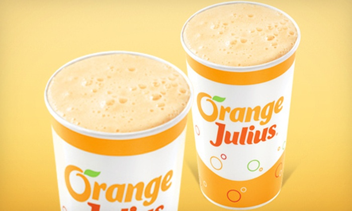 Dairy Queen of Middletown - Middletown: $3 for Two Medium Orange Juliuses at Dairy Queen of Middletown ($5.98 Value)