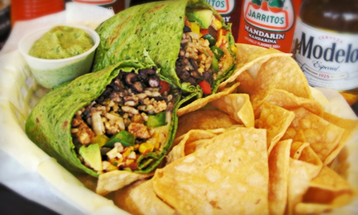 Mamasota's In & Out - Industrial Equipment Center: $7 for $15 Worth of Mexican and American Food at Mamasota's In & Out