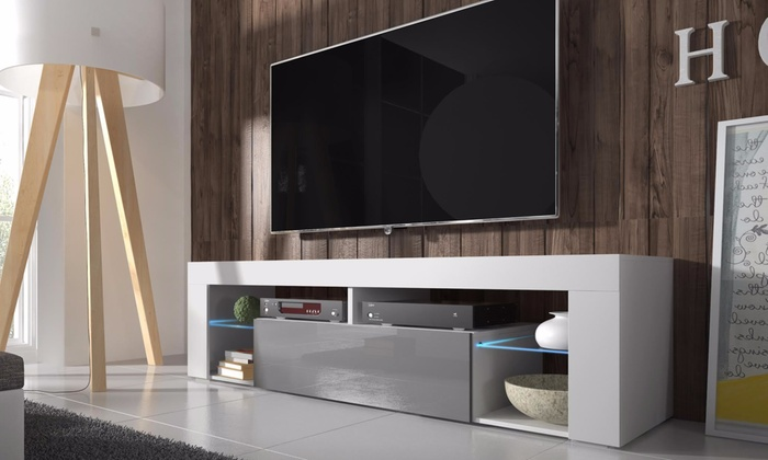 Selsey TV Cabinet with Optional LED Lights