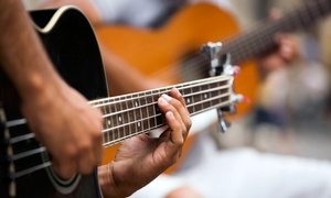 Canby Music: Four Guitar, Drum, Ukulele or Bass Lessons for One or Two Students at Canby Music (Up to 52% Off)