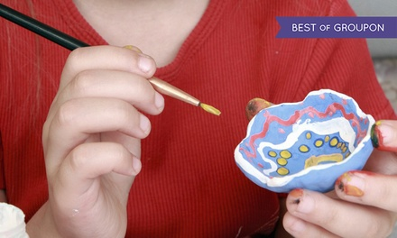 $14 for $25 Worth of Paint-Your-Own Pottery at Paint Spot