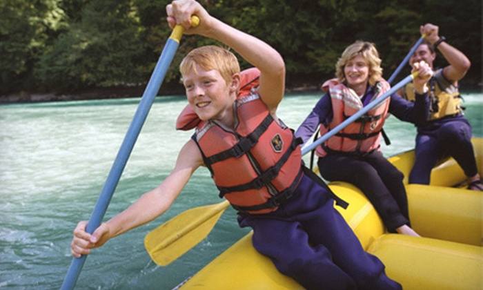 Rafting With My Kids - Barkers Creek: Rafting for One Adult and One Child, or Two Adults and Two Children at Rafting With My Kids in Whittier (Up to 51% Off)