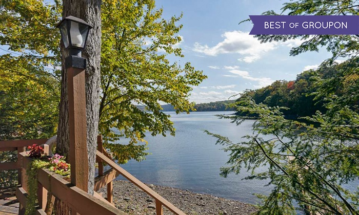 Cove Haven Resort - Lakeville, PA: Stay with Room-Only and All-Inclusive Options at Cove Haven Resort in Pocono Mountains. Dates into April.