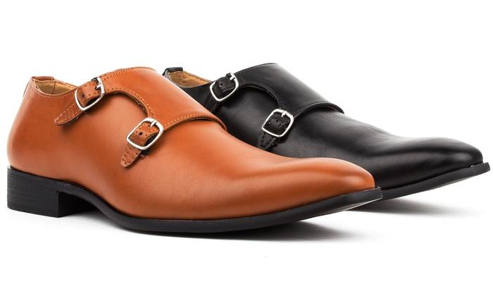 Royal Men's Monk Strap Shoes
