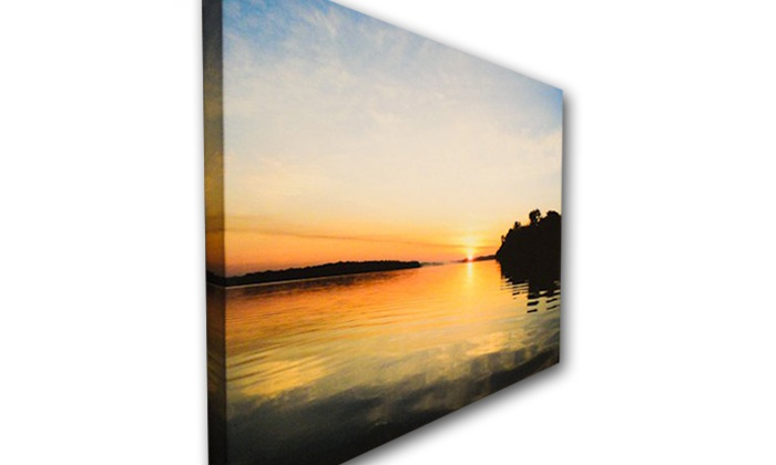"CanvasStock: $35 for a 16""x16"" Custom Canvas Print by CanvasStock ($105 Value)"