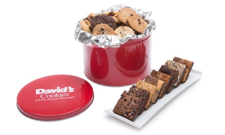 Assorted Cookie and Brownie Tin