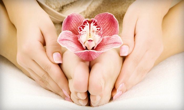 Pour L'Image - Bryn Mawr: One or Two Mani-Pedis at Pour L'Image (Up to 60% Off)