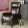 Trenton Bonded-Leather Recliner