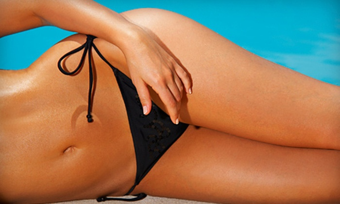 SunSera Salons - Multiple Locations: Tanning Services and Red-Light Therapy at SunSera Salons (Up to 70% Off). Four Options Available.