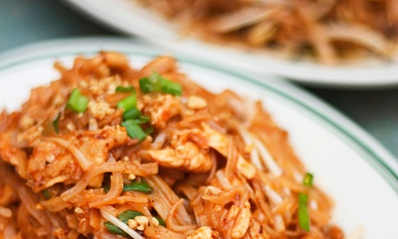 Thai Cuisine and Drinks at Cravin Thai (Up to 51% Off). Four Options Available.