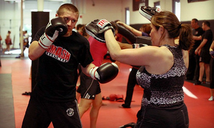 Smash Gyms - Sunnyvale: 10 or 20 Drop-in Kickboxing, Martial Arts, Bootcamp, and Fitness Classes at Smash Gyms in Sunnyvale (Up to 88% Off)