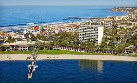 Stay at The Catamaran Resort Hotel & Spa in San Diego. Dates into February.