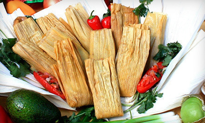 La Popular Tamale House - East Dallas: $10 Worth of Tamales and Mexican Fare