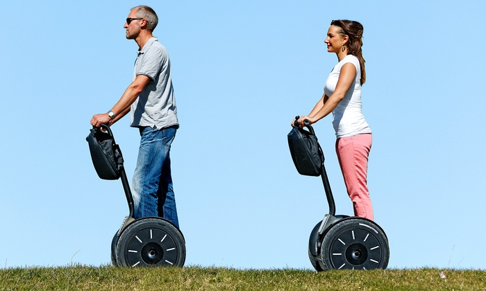 Segway Tours of Grand Rapids - Brown Loading Dock Door: 60-Minute Segway Tour for One or Two from Segway Tours of Grand Rapids (Up to 50% Off)