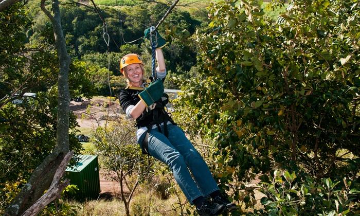 Club Venture - Durban: Para Zipline Tour from Club Venture
