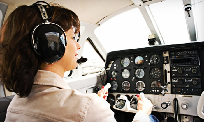 Middletown Regional Flight Training Institute - Middletown: $89 for a Discovery Flight Package from Middletown Regional Flight Training Institute ($180 Value)