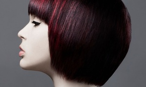 Box Office Hair: Haircut and Deep-Conditioning Treatment with Optional Partial or Full Highlights at Box Office Hair (Up to 57% Off)