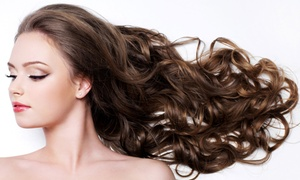 Hair Tech III: Haircut with Styling and Optional Partial or Full Highlights or Single Process Color at Hair Tech III (Up to 65% Off)