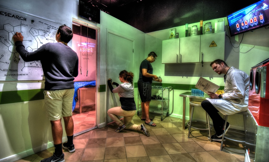 Choice of Escape Room Game - Escapology Escape Rooms Sharjah   Groupon