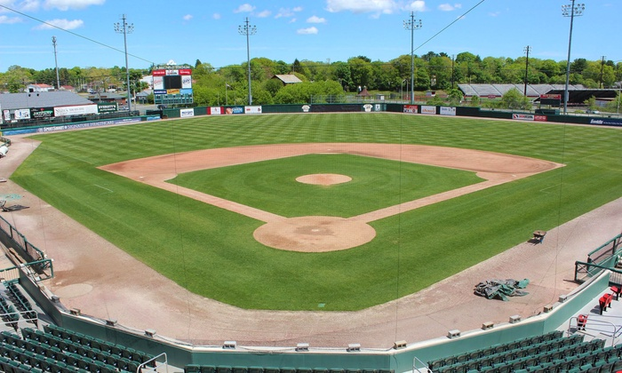 Brockton Rox - Campanelli Stadium: $17.50 for a Brockton Rox Baseball Game for Two with Parking Pass and Logo Ball  at Campanelli Stadium ($35 Value)