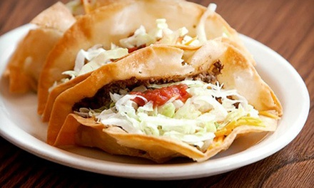$10 for $20 Worth of Mexican Food and Drinks at Maggie's Authentic Mexican Foods