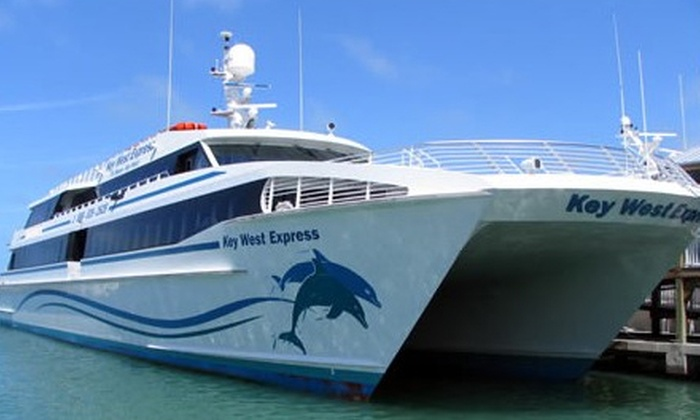 Key West Express - Estero Island: $89 for One Round-Trip Key West Cruise from Key West Express ($147 Value)
