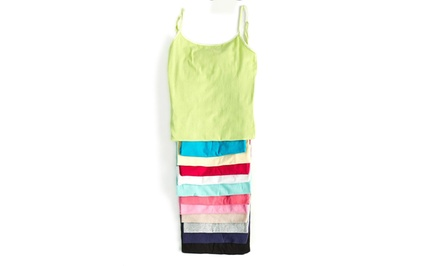 12-Pack of Camisoles in Assorted Colors