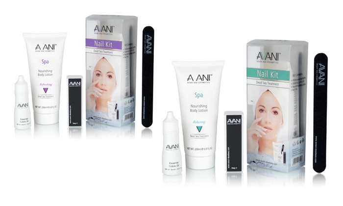 AVANI Dead Sea Treatment Nail Kit: AVANI Dead Sea Treatment Nail Kit. Multiple Scents Available.