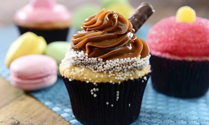 Pink Lemon Bakeshop - Vaughan: 6 or 12 Cupcakes at Pink Lemon Bakeshop (Up to 50% Off)