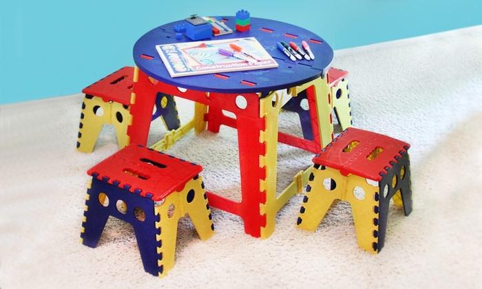kids' table and chair set | groupon goods