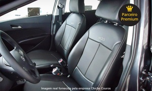 Chicão Couros: Chicão Couros – Asa Norte: revestimento em couro para carro de pequeno a grande a partir de 12x sem juros de R$ 59,57