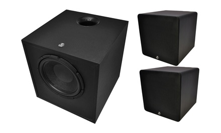 100W, 150W, or 250W Pyle Home-Theater Subwoofer from $99.99–$189.99. Free Returns.