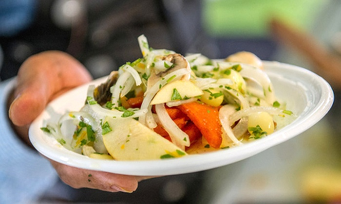 Greenwich Wine+Food Festival - Greenwich: Greenwich Wine+Food Festival at Roger Sherman Baldwin Park on Saturday, October 5, at 12 p.m. (Up to 42% Off)