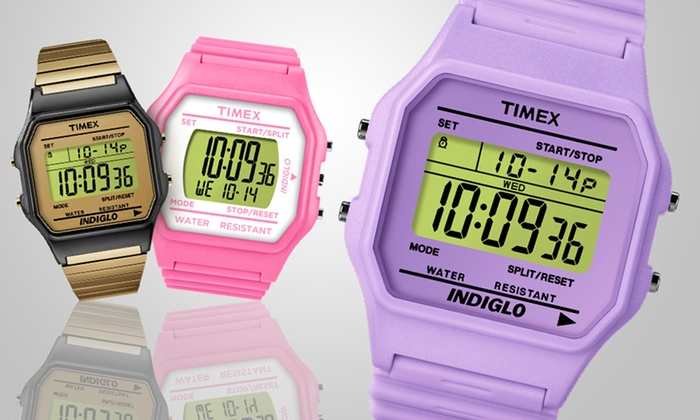 Timex Retro 80 Watches: $14 for Men's and Unisex Timex Retro 80 Watches (Up to 80% Off). Multiple Colors and Styles Available. Free Returns.