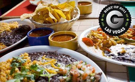 Mexican Dinner and Drinks for 2  - Casa Don Juan in Las Vegas