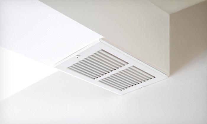 Clean Air America, Inc. - Hudson: $75 for Air-Duct Cleaning for Up to 10 Vents from Clean Air America, Inc. ($299 Value)