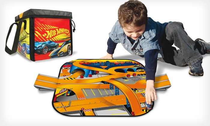 Neat-Oh! ZipBin Car Tracks and Storage: $14 for Neat-Oh! ZipBin Racecar Tracks and Storage  (Up to $22.99 List Price). Three Options Available. Free Returns.